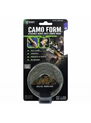 Камуфляжна самоклейка стрічка McNett Camo Form Digital Woodland (DW)