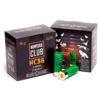 Набій Black Mark Hunters Club HC36 12/70, дріб №4/0 в контейнері, 36.1 г