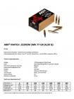 Набій нарізний ABR Match .223 Rem (5.56x45) SMK / 4.99 г, 77 gr