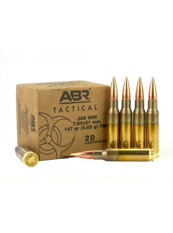 Набій нарізний ABR Tactical M80 .308 Win (7.62x51) FMJ BT / 9.56 г, 147 gr