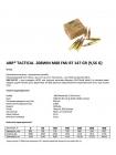 Набій нарізний ABR Tactical M80 .308 Win (7.62x51) FMJ BT / 9.56 г, 147 gr