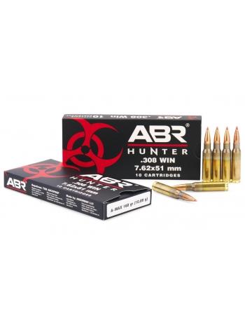 Набій нарізний ABR Hunter .308 Win (7.62x51) A-MAX / 10.89 г, 168 gr