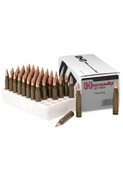 Набій нарізний Hornady Training .223 Rem (5.56x45) BTHP / 4.86 г, 75 gr