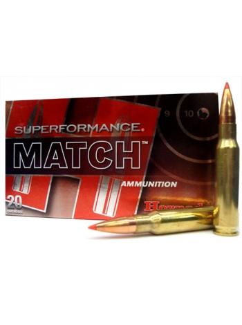 Набій нарізний Hornady Superformance Match .308 Win (7.62x51) A-Max / 10.89 г, 168 gr