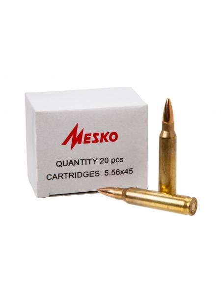 Набій нарізний Mesko .223 Rem (5.56х45) FMJ / 3.56 г, 55 gr