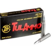 Набій нарізний мисливський ТулАммо .223 Rem (5.56х45) HP / 3.56 г (55gr)