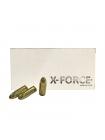 Набій нарізний X-Force 9х19 мм FMJ / 8 г, 124 gr