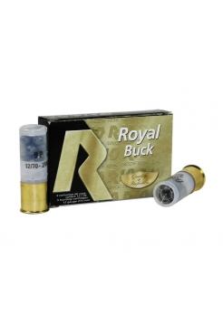 Набій мисливський RIO Royal Buck 9P 12/70, картечь 8.65 мм, 34 г