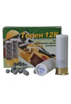 Набій травматичний Еколог «Терен-12К» 12/70, ел. картеч