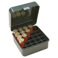 Кейс для набоїв MTM S25-12M Dual Gauge Shotshell Case на 25 набоїв 12 і 10 кал. (12/89), зелений