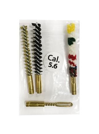 Набір насадок для чищення нарізної зброї калібру 5.6 мм