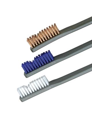 Набор щіток OTIS AP Brushes Trio 3 од. (біла нейлон., синя нейлон., бронзова)