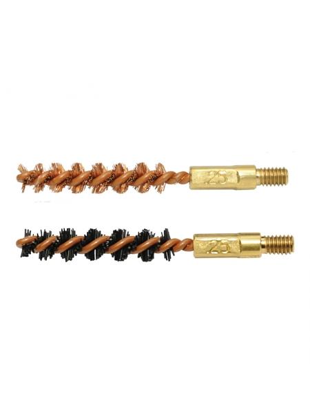 Набір йоржиків OTIS .25 Bore Brush 2 Pack (бронзовий і нейлоновий)