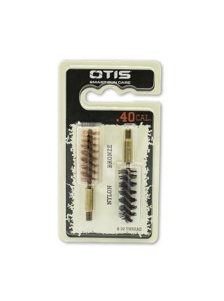 Набір йоржиків OTIS .40 Bore Brush 2 Pack (бронзовий і нейлоновий)