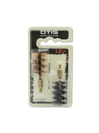Набір йоржиків OTIS 12 Ga Bore Brush 2 Pack (бронзовий і нейлоновий)