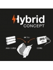 Ліхтар налобний PETZL Tactikka Hybrid Concept / Black