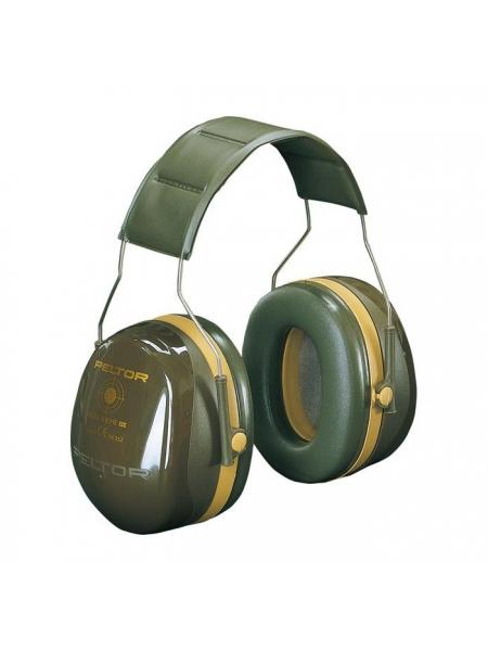 Навушники стрілецькі 3M Peltor Bull's Eye III (H540A-441-GN), SNR 35 дБ, зелені