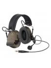 Активна протишумова гарнітура 3M Peltor ComTac XPI Headset, зелена
