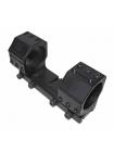 Кронштейн-моноблок МОЛОТ для кріплення оптики 30 мм, нахил 20 MOA