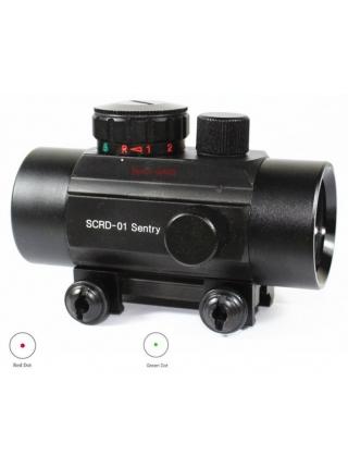 Приціл коліматорний Vector Optics Sentry 1х35 Red Green Dot