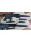 Глушник ПБС Astur MKE MP5 H&K 9 мм / різьба M15x1