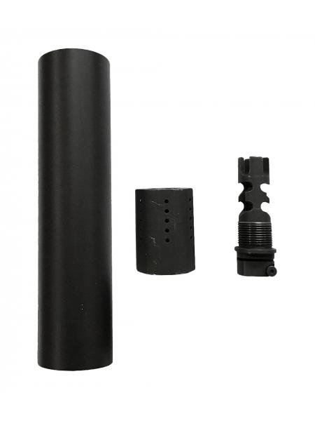 "Глушник ПБС-3 для AR15 системи «3 в 1» / різьба 1/2""-28 UNEF"