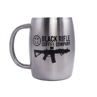 Кружка керамічна Black Rifle Coffee Company Classic Logo Stainless Steel Mug 390 мл