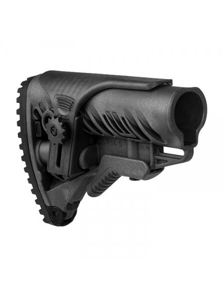 Приклад Fab Defense GLR-16-S тактичний з регульованою щокою / чорний