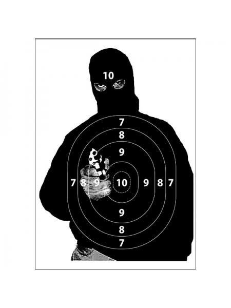 Мішень Терорист, колір чорний