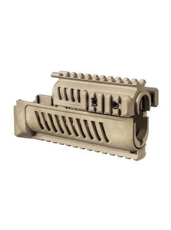 Цівка полімерна Fab Defense Quad Rail для АК