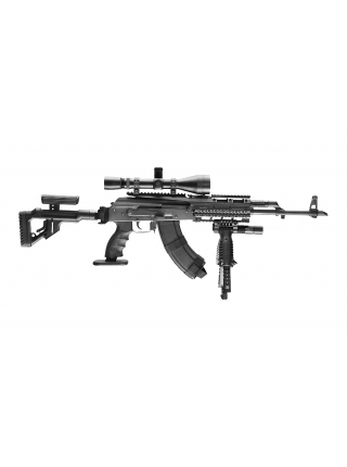 Цівка алюмінієва Fab Defense VFR-АК для АК-47/74 (з планкою на ствольну коробку)