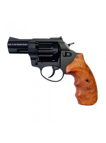 "Револьвер Флобера STALKER 4 мм ствол 2.5"", коричнева рукоятка"