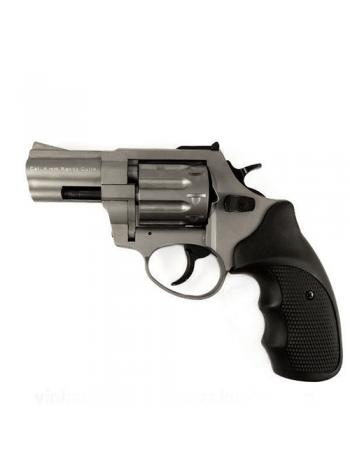 "Револьвер Флобера STALKER Titanium 4 мм ствол 2.5"", чорна рукоятка"