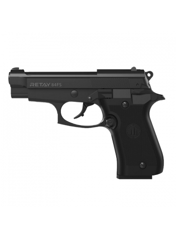 Пістолет стартовий Retay 84FS 9 мм / чорний