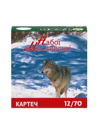 Набій мисливський Тахо 12/70, картеч 6.5 мм, 32.5 г