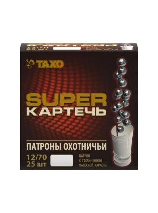 Набій мисливський Тахо 12/70, картеч 6.5 мм super, 39 г