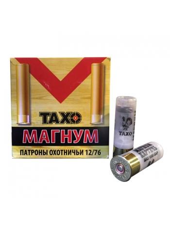 Набій мисливський Тахо Магнум 12/76, картеч 8 мм, 36 г
