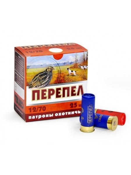 Набій Тахо Перепел 12/70 дріб №9 (2 мм), 24 г