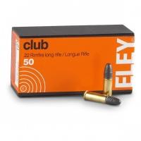Набій нарізний ELEY Club .22LR / куля LRN / 2.59 г, 40 gr