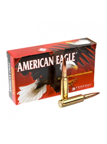 Набій нарізний Federal American Eagle 6.5 Creedmoor (6.5х48) OTM / 9.07 г, 140 gr