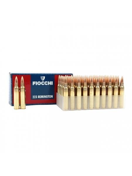 Набій нарізний Fiocchi .223 Rem (5.56x45) FMJ / 4.02 г, 62 gr