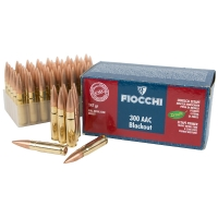 Набій нарізний Fiocchi .300 AAC Blackout (7.62x35) FMC / 9.5 г, 147 gr