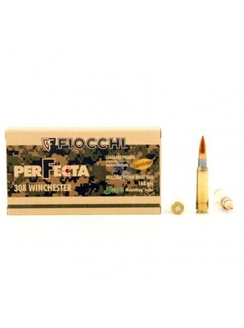 Набій нарізний Fiocchi .308 Win (7.62х51) HPBT PERF. GFL / 10.89 г, 168 gr