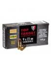 Набій нарізний спортивний Fiocchi 9мм (9х21) FMJ Subsonic / 9.59 г (148 gr)