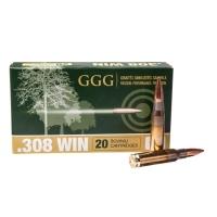 Набій нарізний GGG .308 Win (7.62х51) куля HPBT, 10.89 г / 168 gr