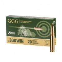 Набій нарізний GGG .308 Win (7.62х51) куля HPBT, 12.31 г / 190 gr