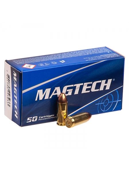Набій нарізний мисливський Magtech 9мм (9х21) FMJ / 8.0 г (124 gr)