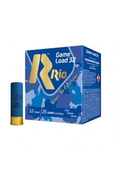 Набій мисливський RIO Game Load-32 FW NEW 12/70 / без контейнера / дріб №5 (3 мм), 32 г