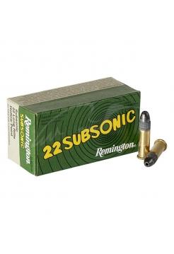 Набій нарізний Remington Subsonic .22LR / куля HP / 2.5 г, 38 gr
