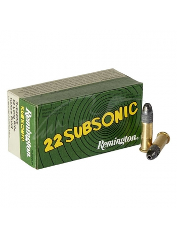Набій нарізний Remington Subsonic .22LR / куля HP / 2.5 г, 38 gr